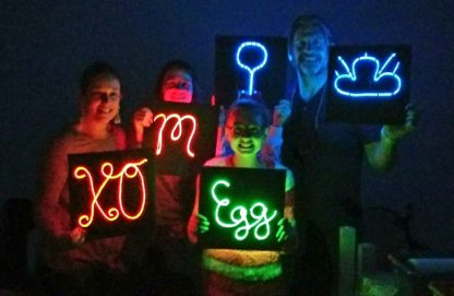 12x12 Neon Sign Party