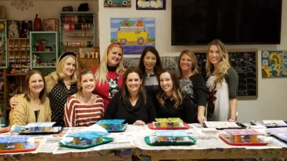 Paint Pouring Party, Adult