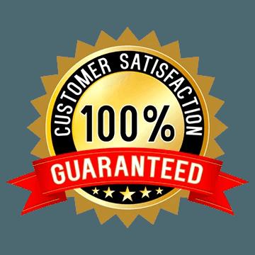 100% Satisfaction Garuntee