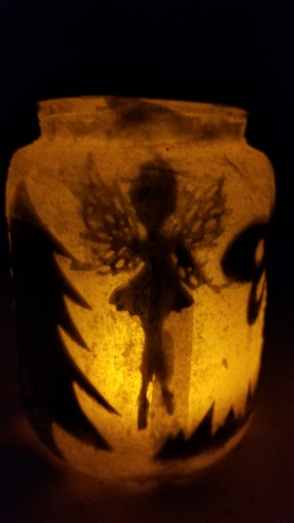 Fairy, Pirate Ship, Dragon, or Mermaid Jar