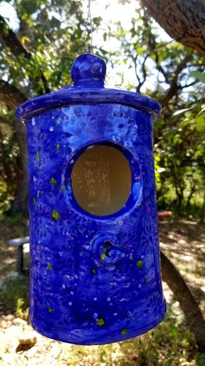 Handmade Ceramic Birdhouse