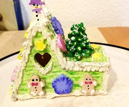 Keepsake Ceramic Gingerbread House