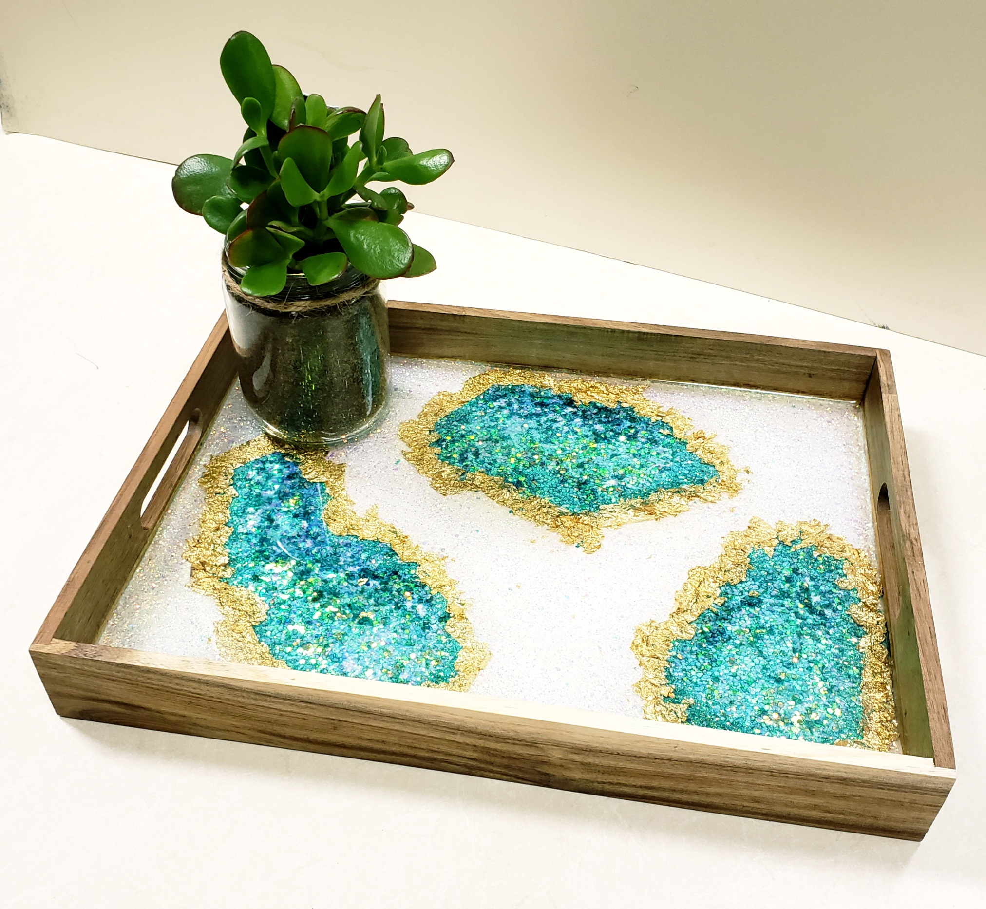 Geode Resin Tray/State Boards