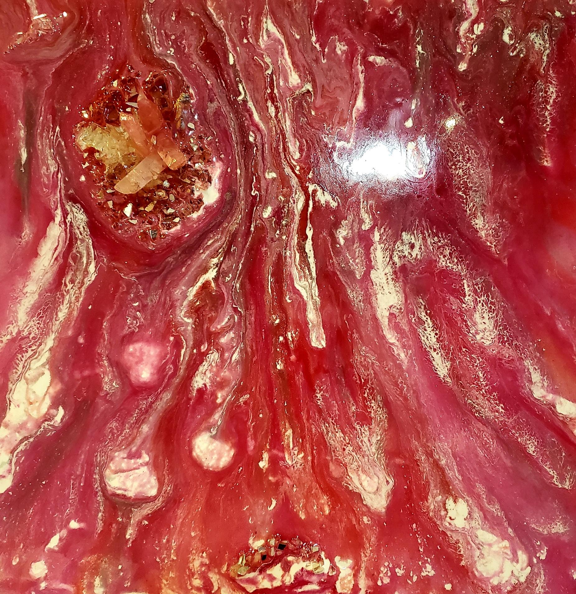 Geode Resin Canvas Workshop