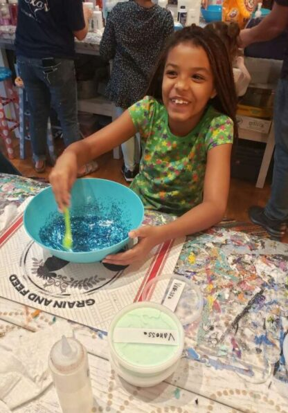 Slime Birthday Party