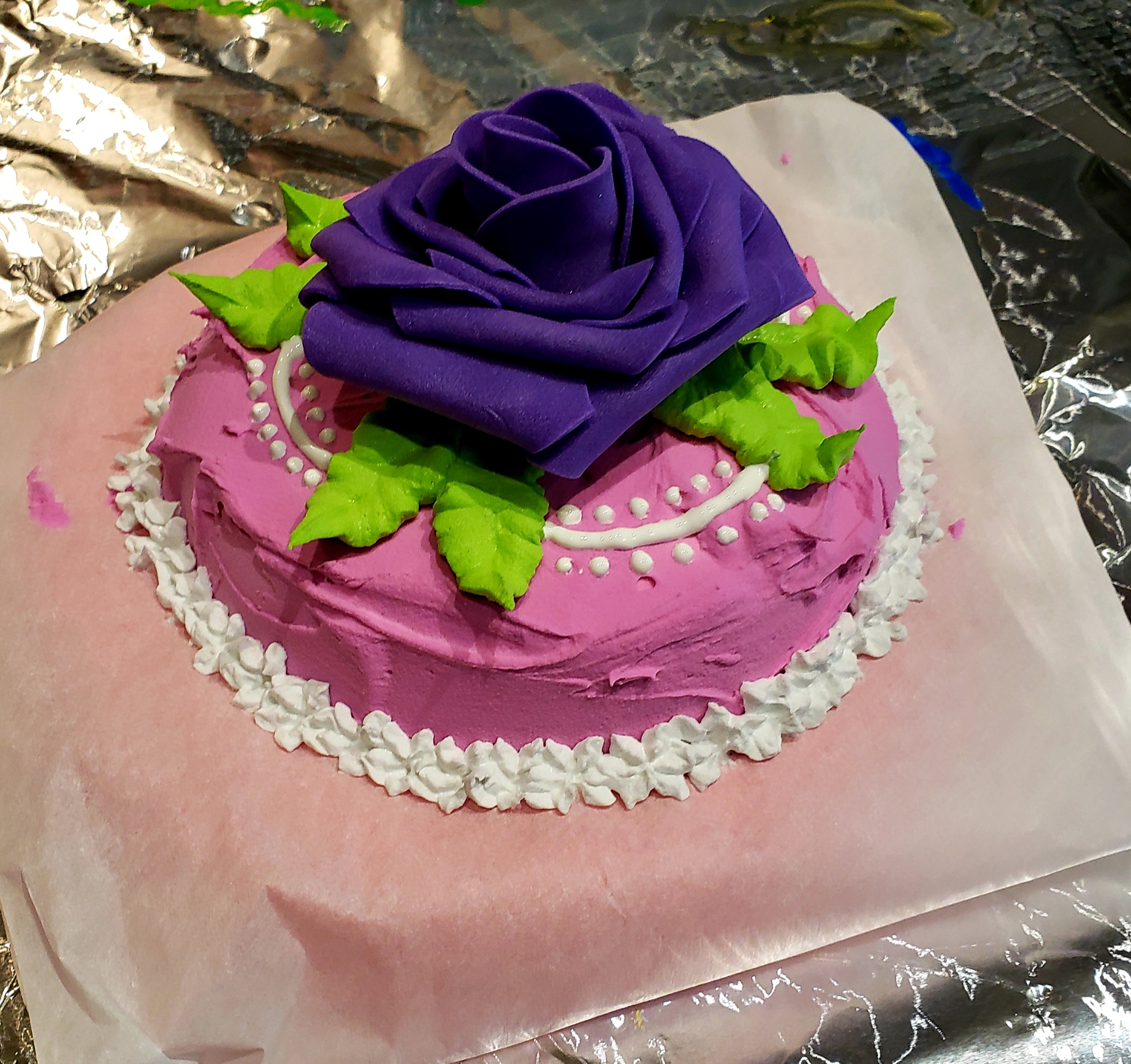 Fake Cakes Birthday Party