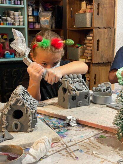 Ceramic Gingerbread House Workshop